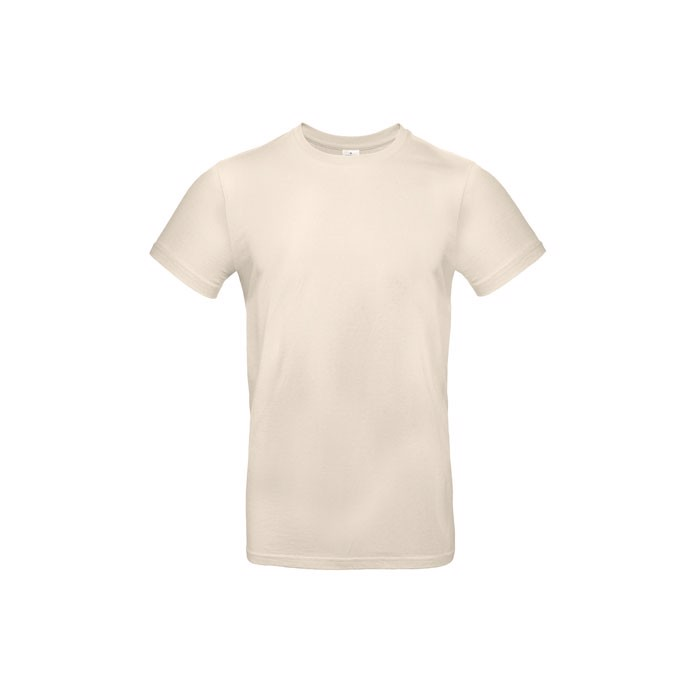 T-shirt male 185 g/m² #E190 T-Shirt - Natural / 3XL