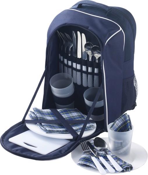 Polyester (600D) picnic rucksack