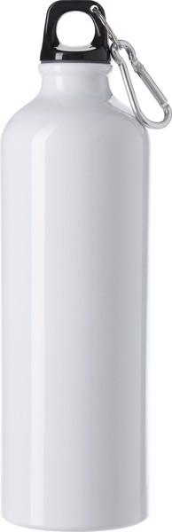 Botella de aluminio - White