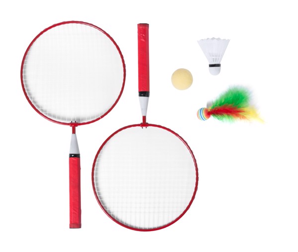 Badminton Set Dylam - Red