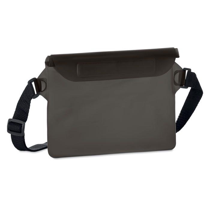 Wodoodporna torba na biodro Waistphone - przezroczysty szary