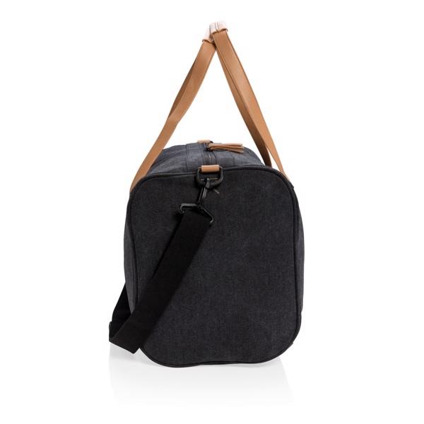 Canvas víkendová taška - Černá