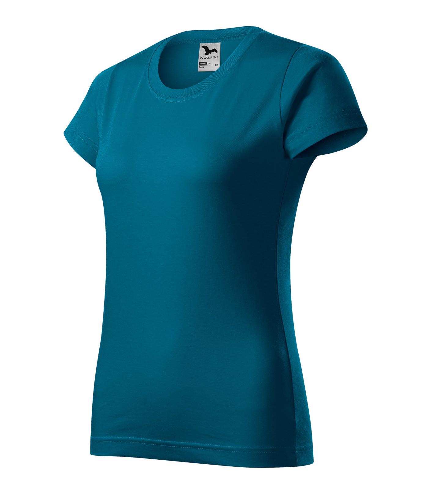 Tričko dámské Malfini Basic - Petrolejová / XS