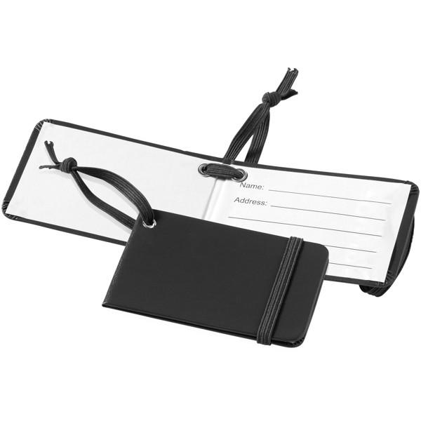 Tripz luggage tag - Solid black