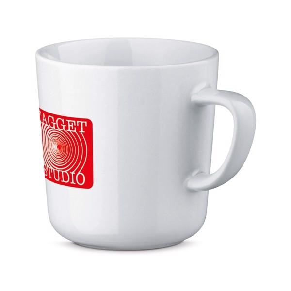 MOCCA WHITE. Ceramic mug 270 ml