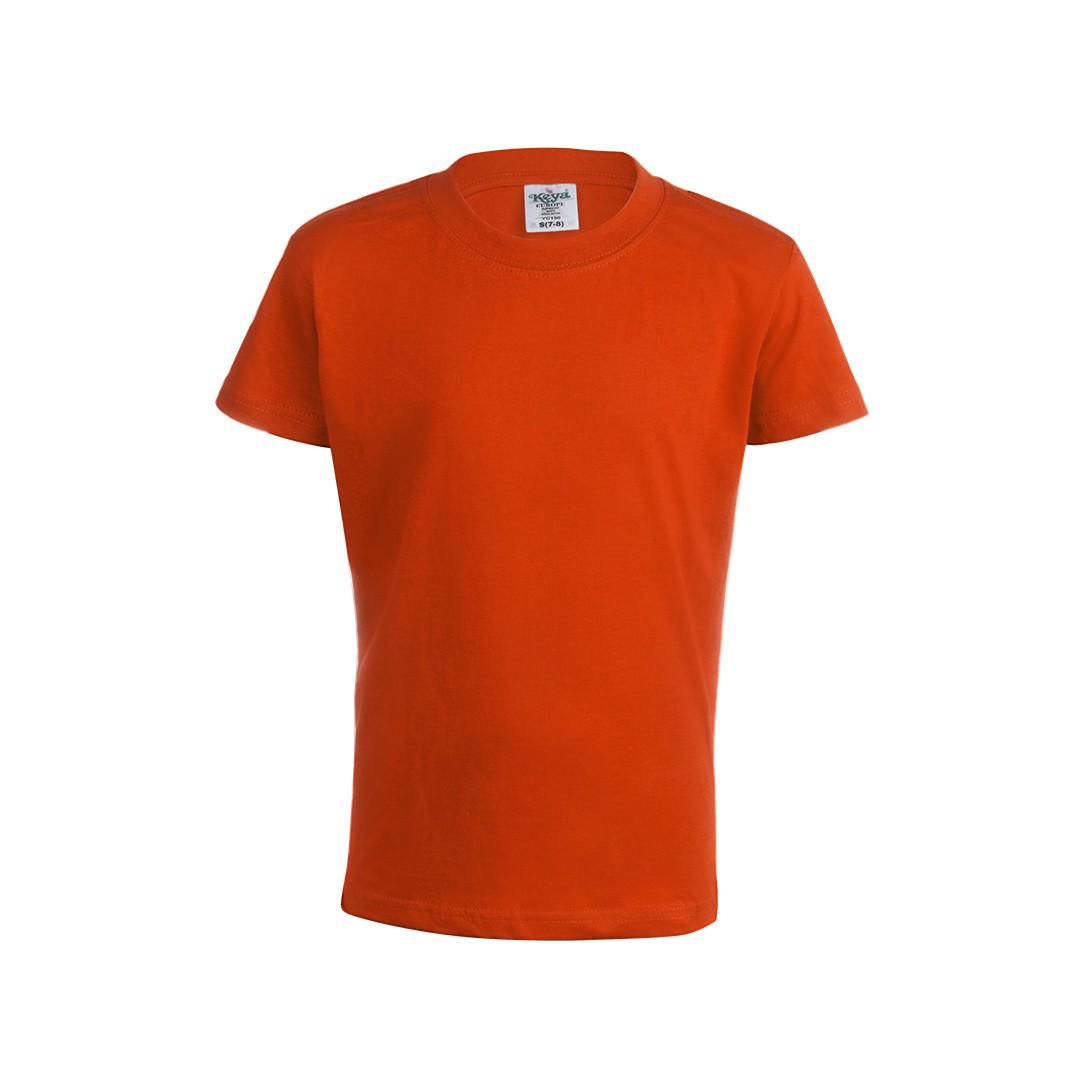 "Camiseta Niño Color ""keya"" YC150 - Naranja / XS"