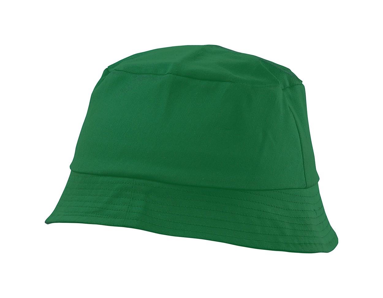 Plážový Klobouček Marvin - Zelená