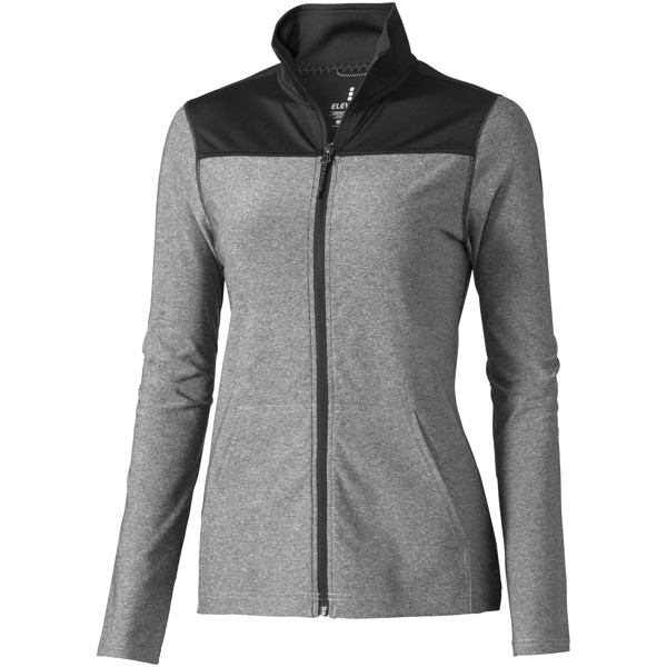 Perren ladies knit jacket - Heather grey / XL