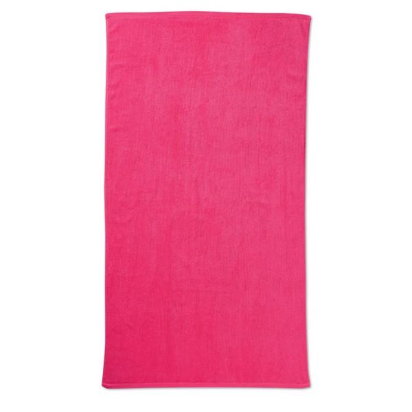 Ręcznik plażowy. Tuva - fuksja