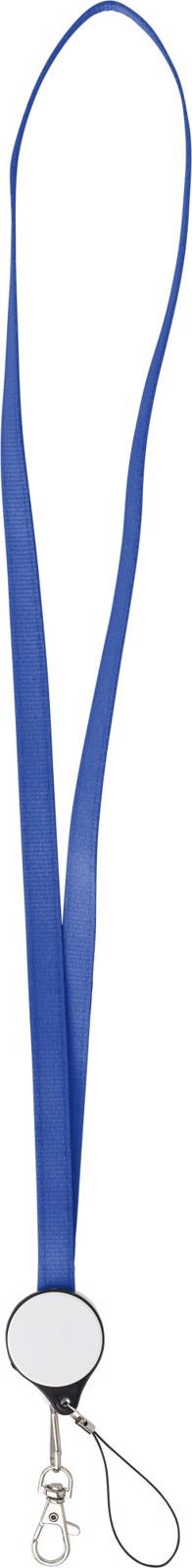 ABS 2-in-1 lanyard - Cobalt Blue