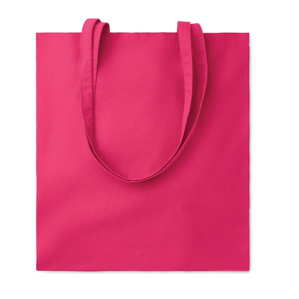 Cotton shopping bag 140 gr/m² Cottonel Colour + - Fuchsia