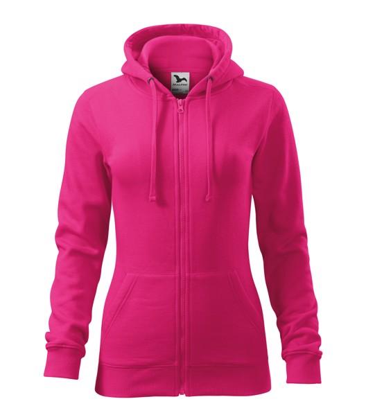 Sweatshirt women's Malfini Trendy Zipper - Magenta / S