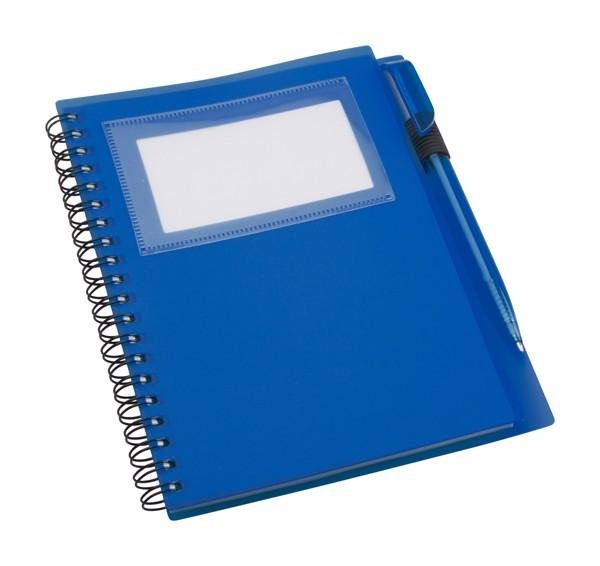 Notebook Tagged - Dark Blue
