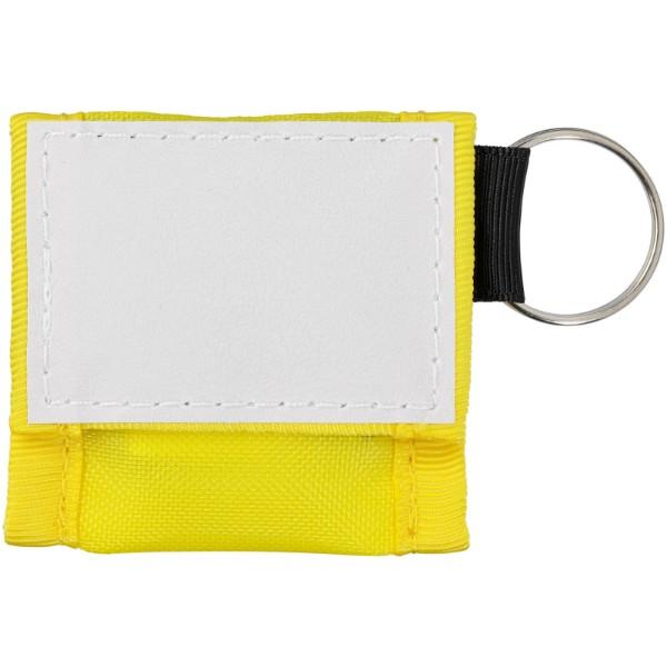 Henrik Mund-zu-Mund-Schutz im Polyesterbeutel - Gelb