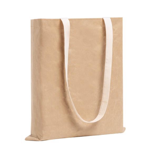 Paper Shopping Bag Curiel - Natural / White