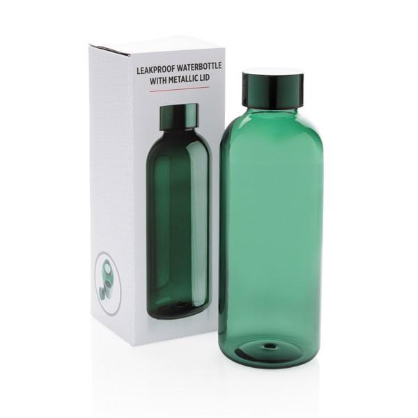 Nepropustná lahev s kovovým uzávěrem - Zelená