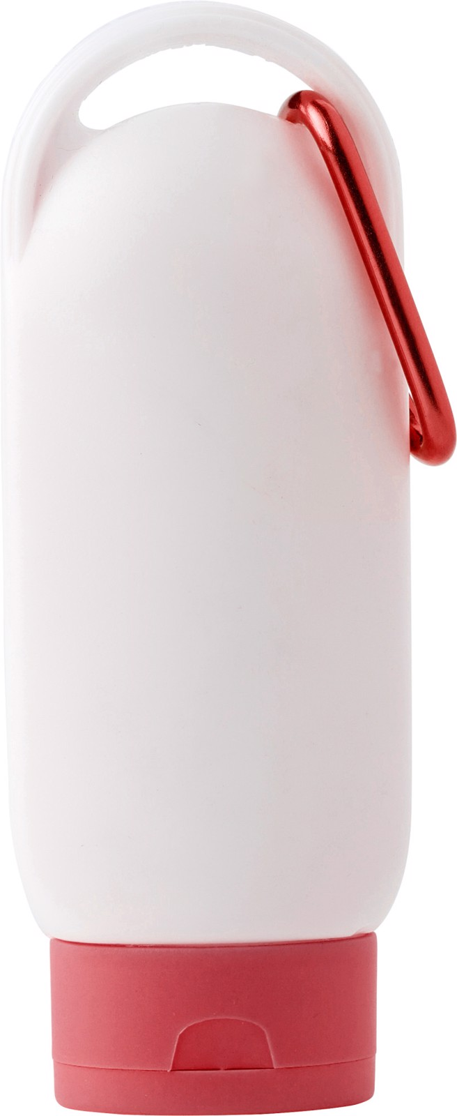 PE sunscreen lotion bottle - Red