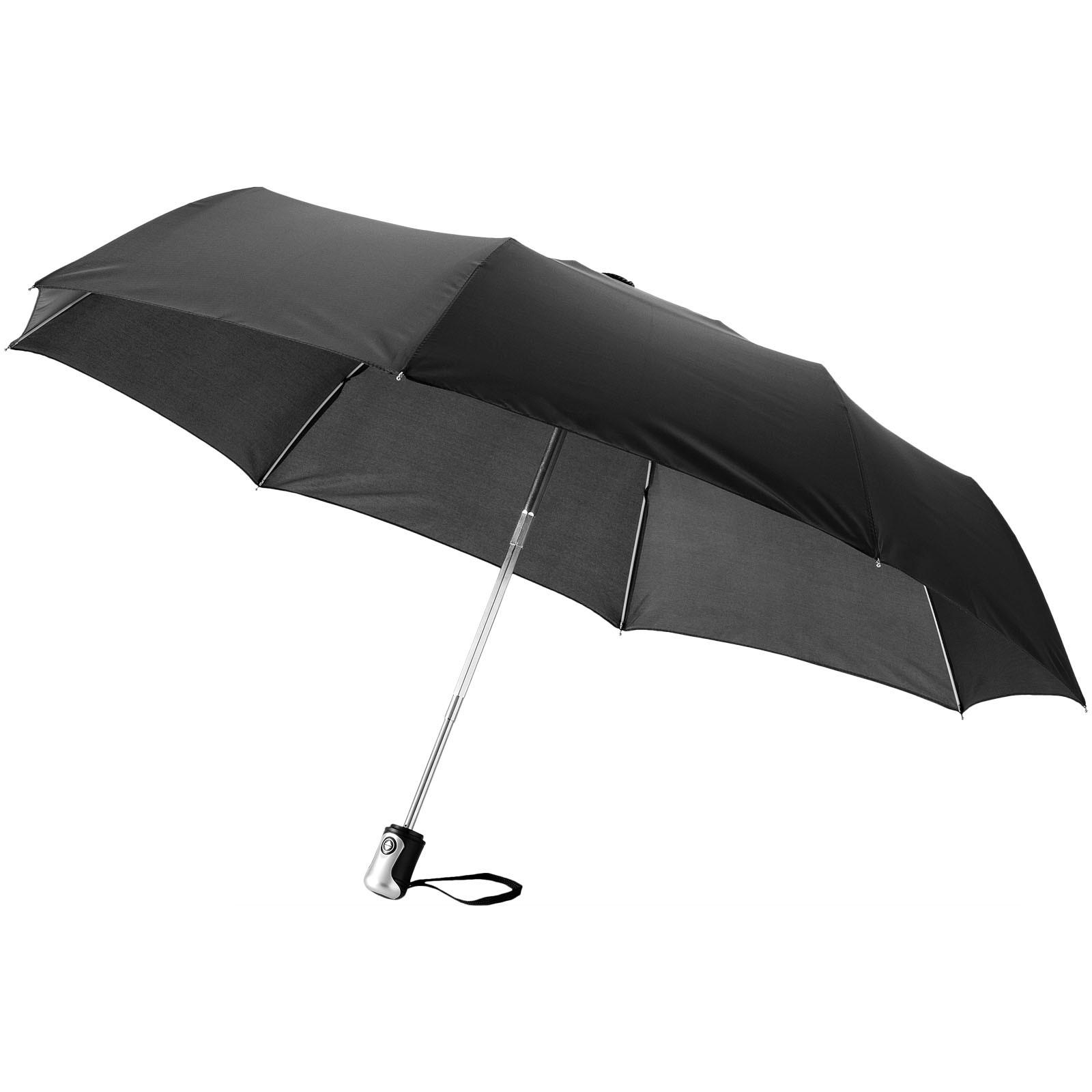 """21,5"""" deštník Alex s automatickým otvíráním/skládáním - Černá"""