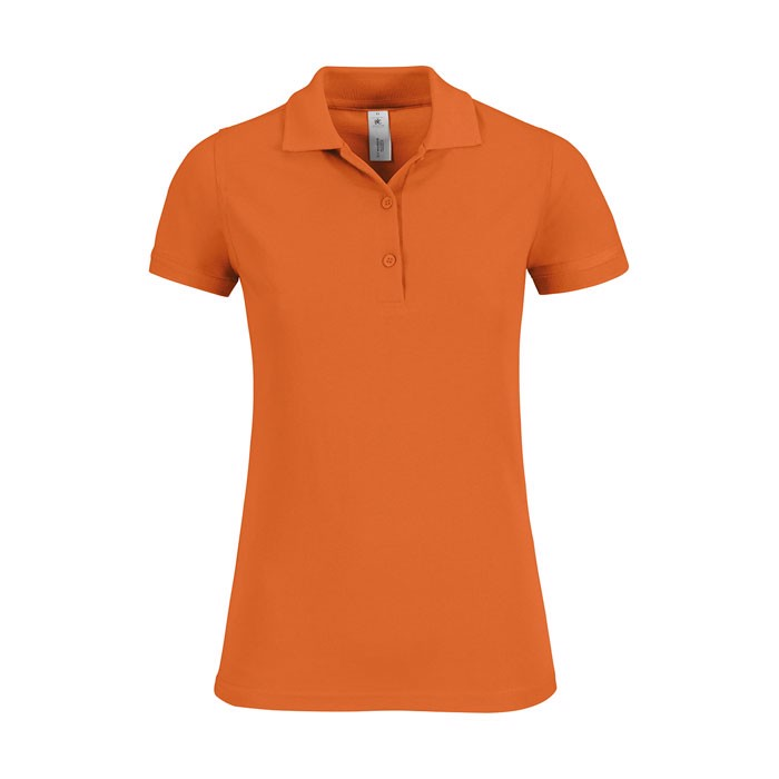Damen Polo Shirt 180 g/m2 Safran Timeless Women - Pumpkin Orange / S