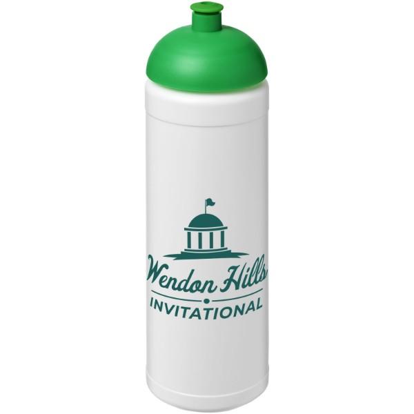 Sportovní láhev s kupolovitým víčkem Baseline® Plus 750 ml - Bílá / Zelená