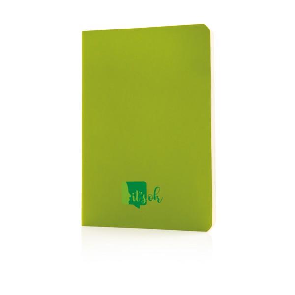 Základní poznámkový blok s měkkou vazbou - Zelená