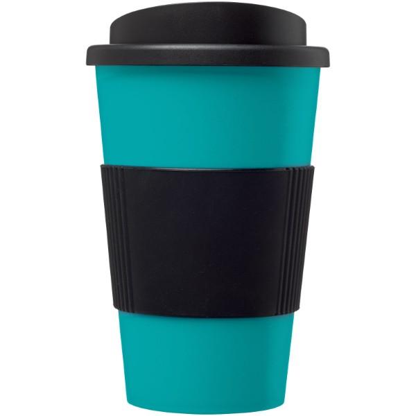 Termo hrnek s rukojetí Americano® 350 ml - Aqua blue / Černá
