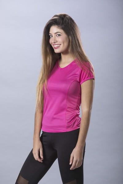T-Shirt Mulher Tecnic Rox - Vermelho / M