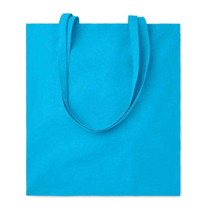 Bawełniana torba na zakupy Cottonel Colour ++ - turkusowy