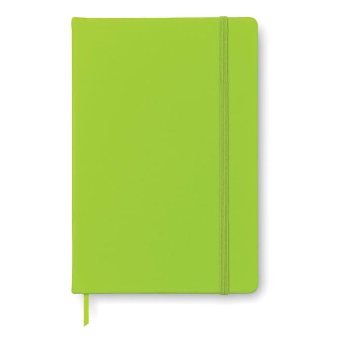 Notes A5, 96 kartek Arconot - limonka
