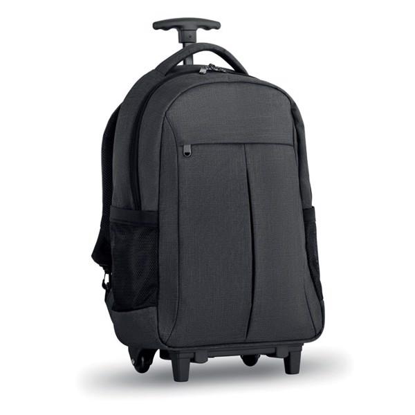 Trolley backpack in 360D Stockholm Trolley