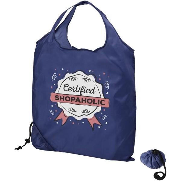 Scrunchy shopping tote bag - Royal blue