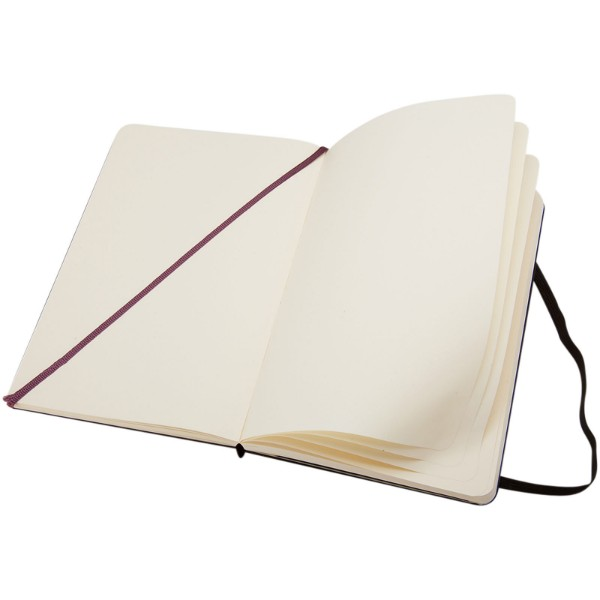 Classic PK hard cover notebook - plain - Solid black