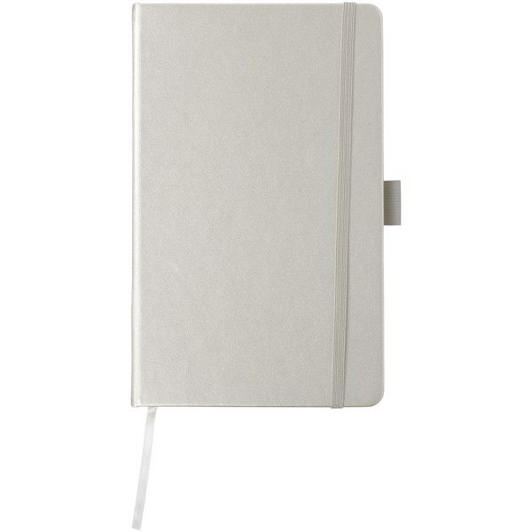 Zápisník s pevnou obálkou A5 Vignette - Stříbrný