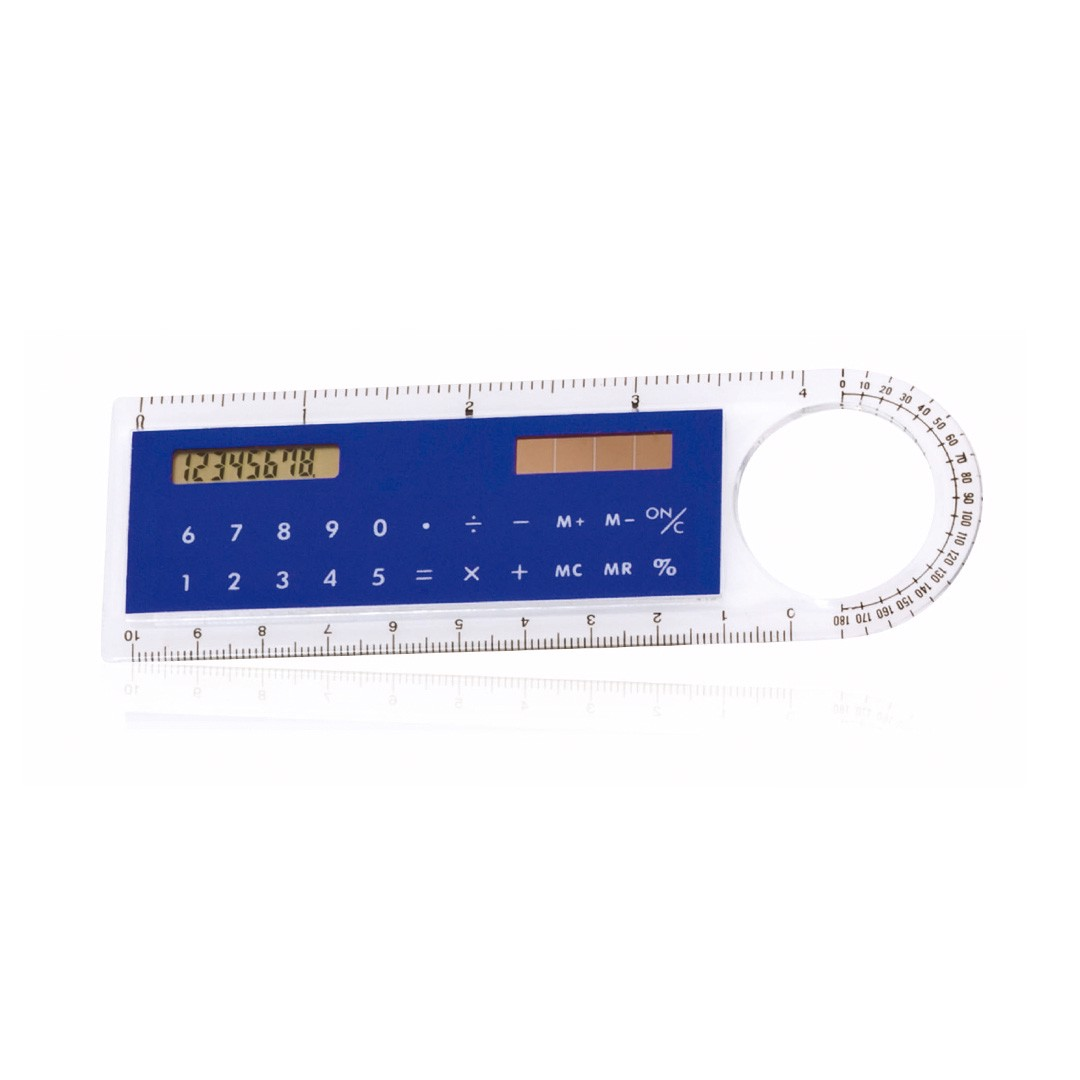 Regla Calculadora Mensor - Azul