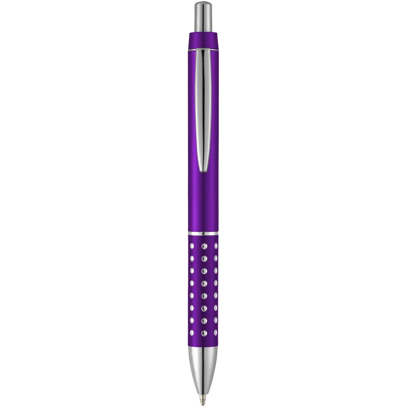 Bling Kugelschreiber mit Aluminiumgriff - Lila