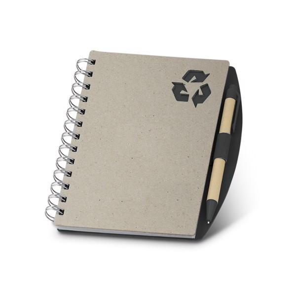 RAINER. Notepad - Μαύρο