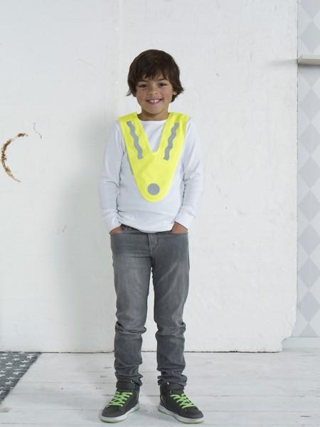 Polyester (75D) safety vest
