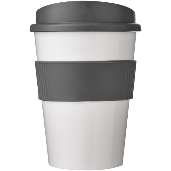 Americano® medio 300 ml tumbler with grip - White / Grey
