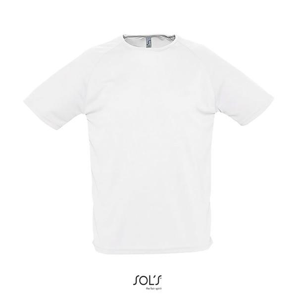 SPORTY férfi T-Shirt 140g - White / M