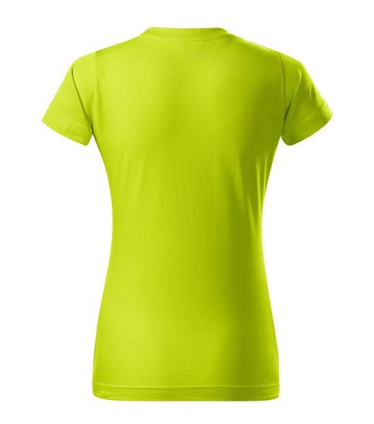 T-shirt women's Malfini Basic - Lime Punch / 2XL