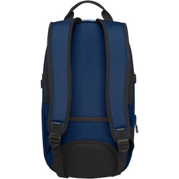 """Mochila para portátil de 15"""" de PET reciclado GRS """"Baikal"""" - Azul marino"""
