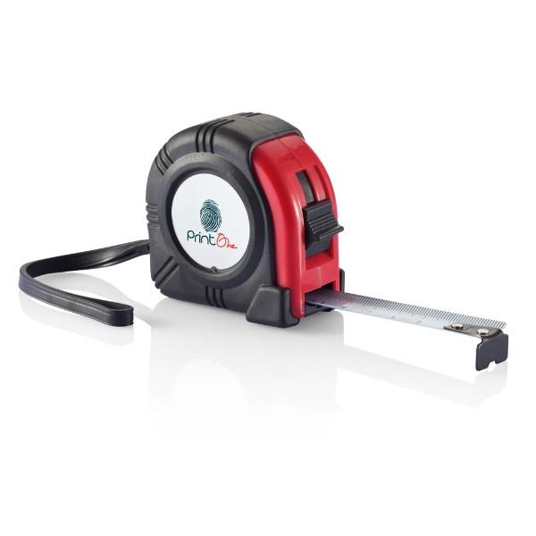 Kiev measuring tape - 3m/16mm - Red / Black