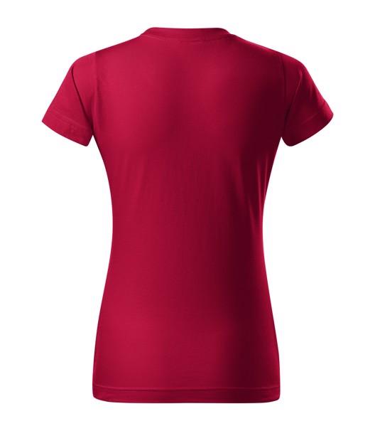 T-shirt women's Malfini Basic - Marlboro Red / L