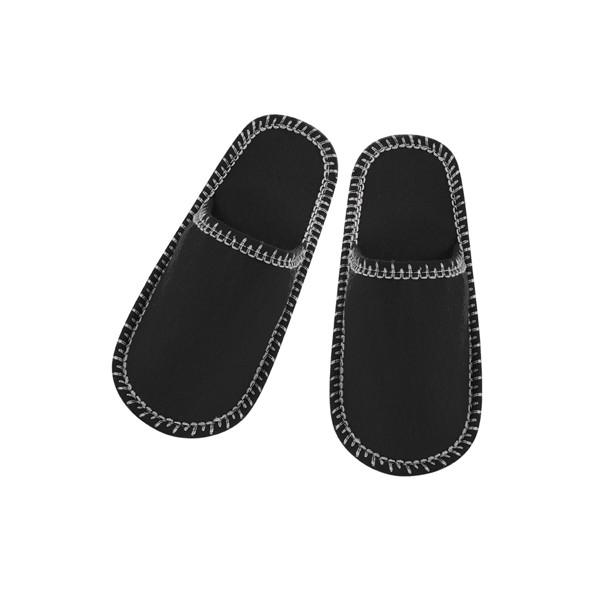 Pantoufles Cholits - Noir / MUJ