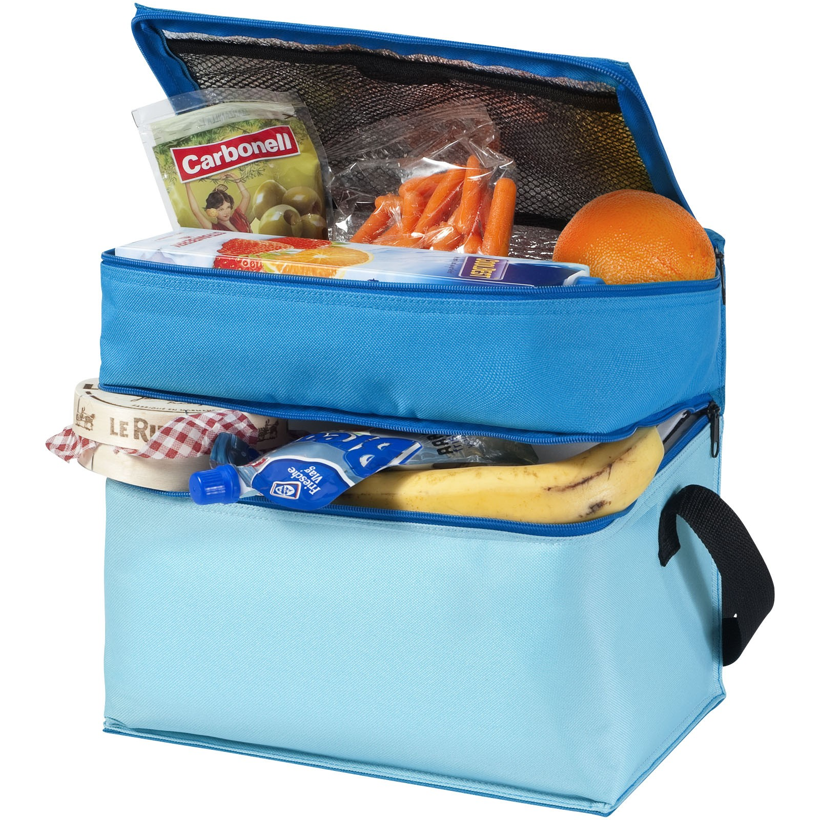 Trias 2-compartment cooler bag - Blue