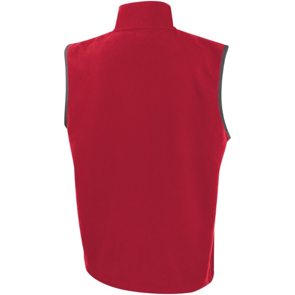 Tyndal men's fleece bodywarmer - Red / XL