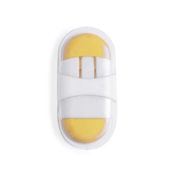 Borracha Pulsy - Amarelo