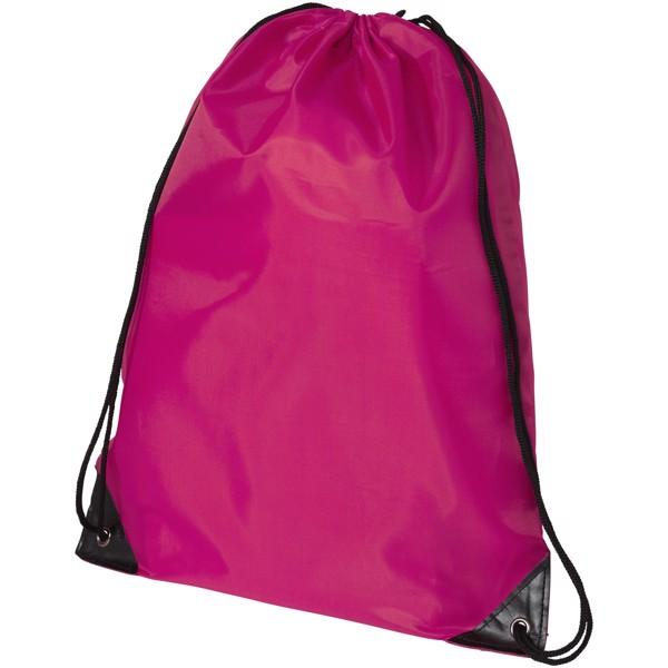 Oriole premium drawstring backpack - Magenta