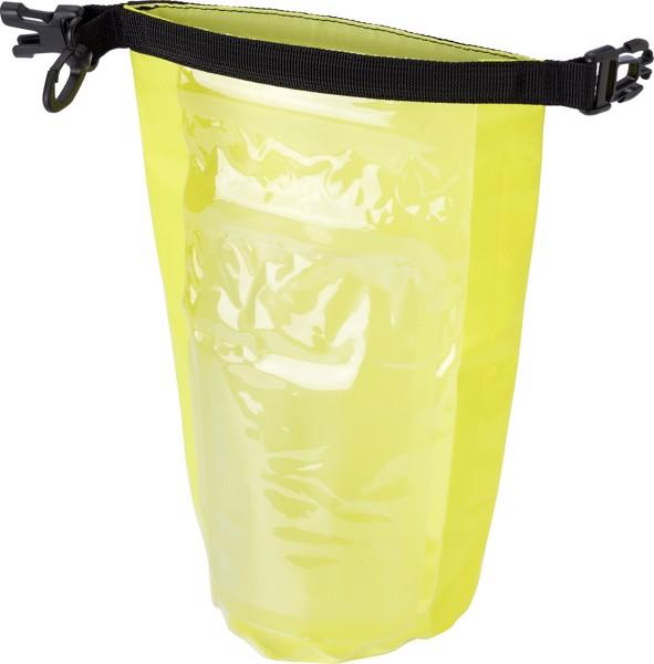 Polyester (210T) watertight bag - Yellow