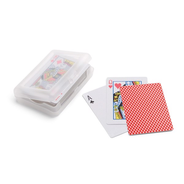 JOHAN. Pack of 54 cards - Red